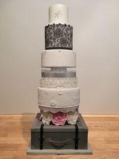 When Harry met Meghan Wedding Cake for Ideal Home Show Ideal Home Show, Wedding Cakes, Baking, Decor, Wedding Gown Cakes, Patisserie, Wedding Pie Table, Wedding Cake, Decorating