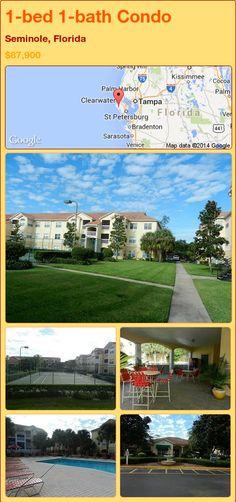 1-bed 1-bath Condo in Seminole, Florida ►$87,900 #PropertyForSale #RealEstate #Florida http://florida-magic.com/properties/72702-condo-for-sale-in-seminole-florida-with-1-bedroom-1-bathroom
