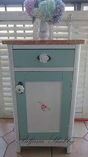 Biljana Shabby: Home and Design: Painting and decorating an old dresser                                                                                                                                                                                 More