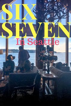 Seattle Six Seven Restaurant in Seattle, Washington. Awesome views and great food. Karlaroundtheworld