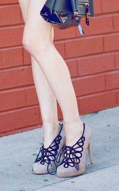 Lace Up Heels - I could never have enough heels