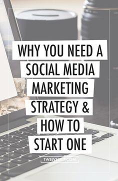 Start Social Media Marketing Strategy