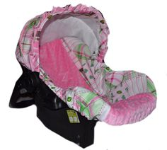 Baby Car Sear Cover Infant Car Seat Cover Slip by sewpreciousbaby, $79.00