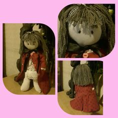 Hand made doll sold