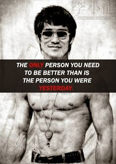 Another quote from a martial arts master Bruce Lee Motivacional Quotes, Wisdom Quotes, Great Quotes, Quotes To Live By, Inspirational Quotes, Super Quotes, Brice Lee, Mon Combat, Martial Arts Quotes