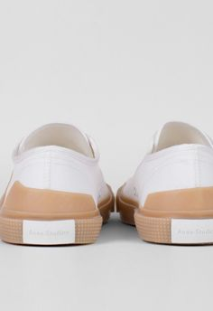 Acne Studios Todd Sneaker White/Ambra – Voo Store
