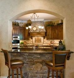 rustic tuscan decorating ideas | Decor | Rustic Tuscan Kitchen - Kitchen Designs - Decorating Ideas ...