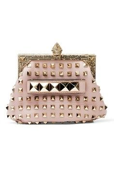 8bbc1ed291453d #valentino My Bags, Purses And Bags, Valentino Rockstud, Valentino Clutch,  Valentino
