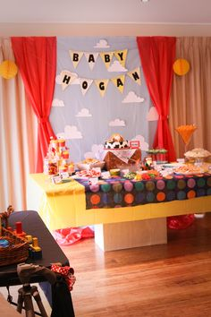 Toy Story Baby Shower- yep @Kate Frost we're pretty awesome!