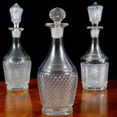 Antique Crystal Decanters (SOLD)