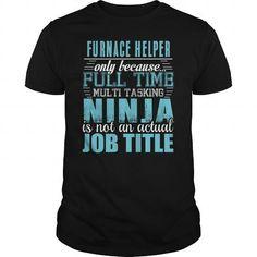 FURNACE HELPER Ninja T-shirt