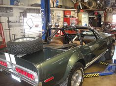 '67 Shelby Mustang off-roader (replica from The Thomas Crown Affair movie)