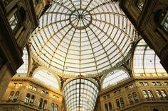 Shopping under glass in Naples's Galleria Umberto Ivon Fotopedia Editorial Team