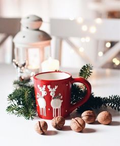Christmas Themes, Anul Nou, Mugs, Tableware, Winter, Winter Time, Dinnerware, Tumblers, Tablewares
