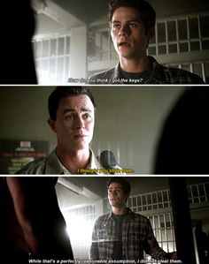 #TeenWolf #5x15 - Is the Sheriff on board with this?