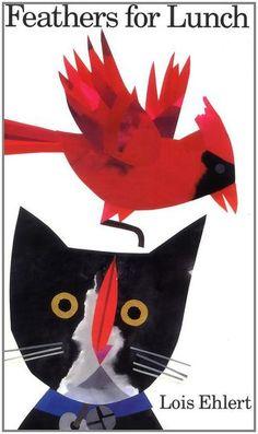 Plumas para almorzar Lois Ehlert 0152010211 9780152010218 The Spanish-language edition of Feathers for Lunch. Lois Ehlert, Book Art, Bird Guides, Bird Identification, Common Birds, Bird Book, Bright Pictures, Bird Theme, Pet Theme