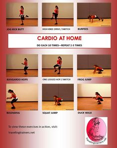 Cardio at home