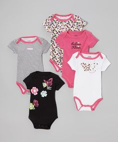 Calvin Klein Underwear ~ $13.99 LAST DAY ~ Pink Floral Bodysuit Set ~ more choices available