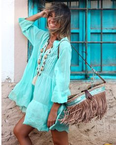 """""""Breeze"""" : Alice rises up Hippie Chic Outfits, Boho Outfits, Fashion Outfits, Womens Fashion, Boho Hippie, Bohemian Style, Boho Chic, Pretty Summer Dresses, Quoi Porter"""