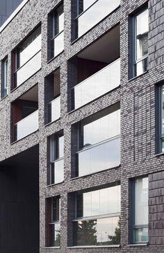 The residential block Maja Gräddnos, Stockholm/ KjellanderSjoberg