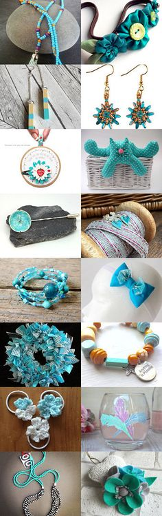 Turquoise Summer by Kat Smith on Etsy
