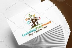 Learning Tree House | Logo by REDVY on @creativemarket