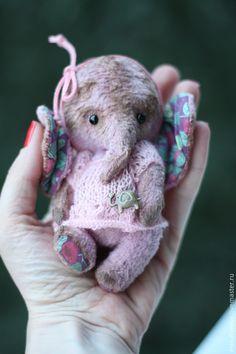 Прелестный тедди слоненок Чуня от Екатерины Матвеевой — работа дня на Ярмарке…