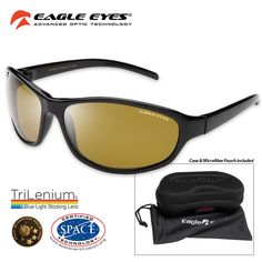 46059ee973 Eagle Eyes Forenza Polarized Sunglasses - Space Certified from NASA