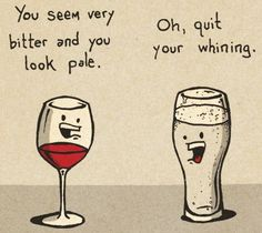 Wine or Beer - which do you prefer?