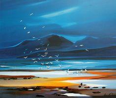 Pam Carter - Flock of Gulls