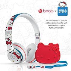 Beats ~ HelloKitty 40th Anniversary Edition