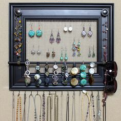 Jewelry Organizer Display Rack Holder Picture by HedcraftFineArt, $79.95