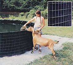 You can construct a water storage tank in a weekend for relatively little expense and effort.