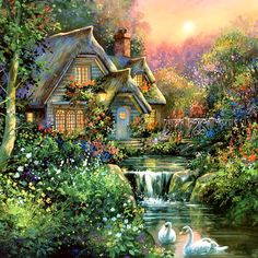 levkonoe: Jim Mitchell - Cottage