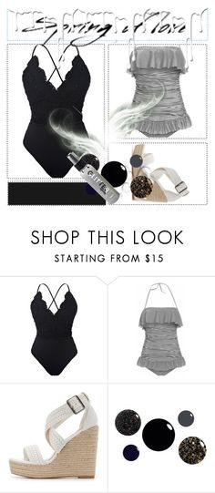 """""""Powerful swimwear :)"""" by lejla-393 ❤ liked on Polyvore featuring Charlotte Russe, Valentino, Nivea, vintage and 78"""