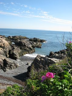 """Marginal Way"" Rocky Maine Coastline - Photo taken by Miss Perry"