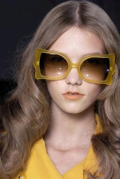 Karlie Kloss in Sonia Rykiel Spring 2008 sunglasses