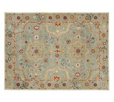Leslie Persian-Style Rug for under the dinner table or in the front entryway