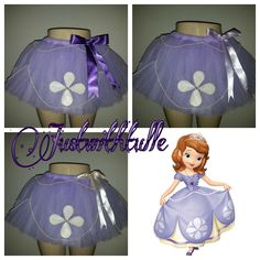 PRINCESS SOFIA Tutu by Justwithtulle on Etsy https://www.etsy.com/listing/179025083/princess-sofia-tutu