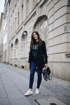 schwarze blazer stylen