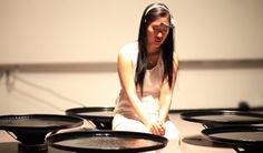 Eunoia, interactive installation, Lisa Park | #art #technology