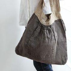キャミバッグ テレサ _ トープ/ストローの通販。リネン(麻)素材のリーノエリーナのバッグ。ポケット付きで可愛らしく、普段使いにおすすめ。 Japan Bag, Bette Davis Eyes, Purse Organization, Denim Bag, Cloth Bags, Tote Purse, Handmade Bags, Natural Linen, Purses And Bags