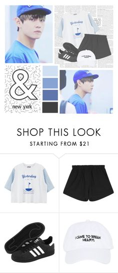 """""""I Know You Know---Produce 101 S2"""" by alicejean123 ❤ liked on Polyvore featuring adidas and Nasaseasons"""