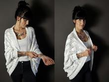 Strickanleitung Seelenwärmer federleichtes Blättermeer oversize Kimono Top, Knitting, Blouse, Long Sleeve, Sleeves, Super, Tops, Fashion, Tricot