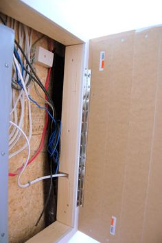 How To Hide An Electrical Utility Panel Jammer Six Hide Electrical Panel Electrical Panel