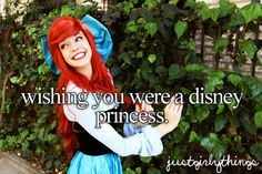 I could totally be Anna!  I think I could pass for Ariel or Merida too, they make you wear a wig anyway. :) It'd be so fun to work at Disney World as one of the princesses.  Being paid to cosplay?  Sounds awesome.  That actually is what I'd like to do as my job when I'm older.