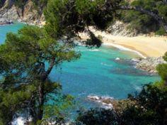 Playa Malgrat de Mar en Malgrat de Mar, Cataluña
