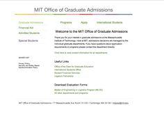 MIT-Graduate Admissions
