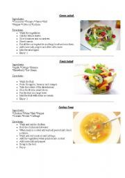 English worksheets how to write a recipe esl pinterest english worksheets simple recipes forumfinder Images