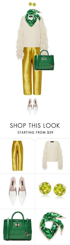 """eva0202"" by evava-c on Polyvore featuring Isa Arfen, Tabula Rasa, Zara, Ross-Simons, Diane Von Furstenberg and Echo"